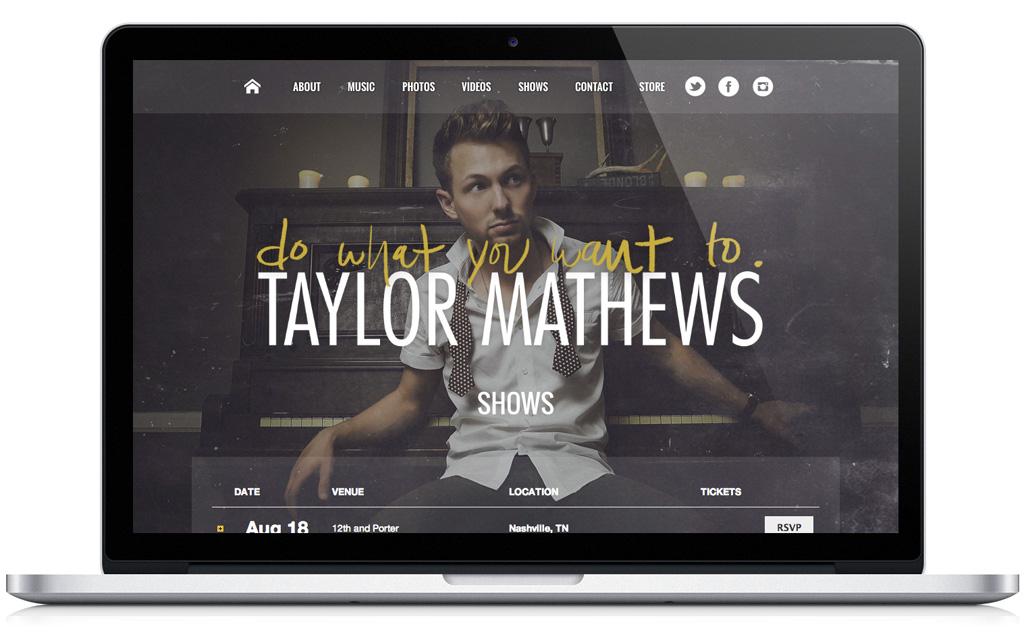 Taylor Mathews